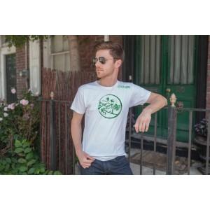 Camiseta Masculina Branca Hipismo