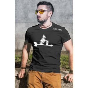 Camiseta Masculina Tambor Preta