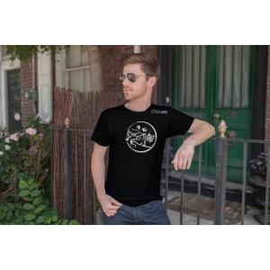 Camiseta Masculina Preta Hipismo