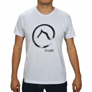 Camiseta Branca estampa Logo com detalhes Clube do Cavalo