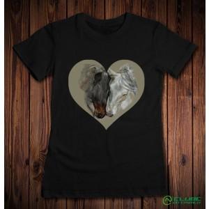CAMISETA FEMININA LOVE HORSE