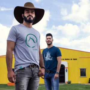 Camiseta Cinza Estampada - Clube do Cavalo